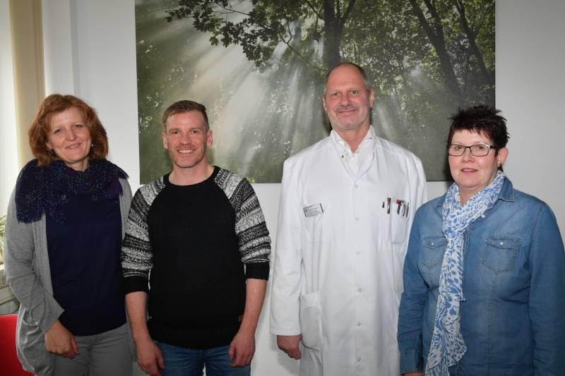 Ursula Wolf, Guido Adams, Dr. Michael Maasberg, Hildegard Schmalbach